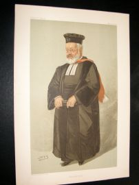 Vanity Fair Print 1904 Very Rev. Adler. Chief Rabbi
